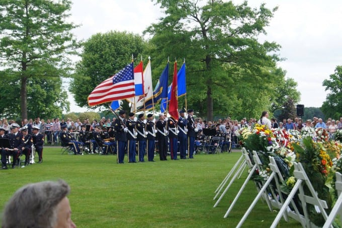 Memorial Day honor guard