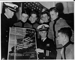 Citadel Cadets consider enlisting Navy 1942