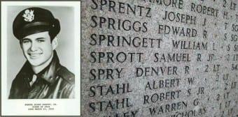 Samuel R Sprott Jr Florence American Cemetery