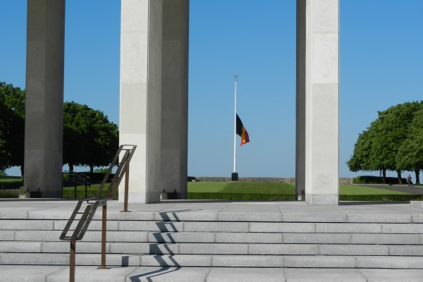 Memorial Day at Henri-Chapelle American Cemetery in Belgium