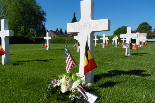 An Unknown at Henri-Chapelle American Cemetery